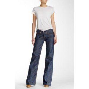 Rag & Bone Featherstone Wide Leg Loose denim jeans